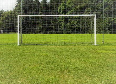 ukuran gawang sepak bola